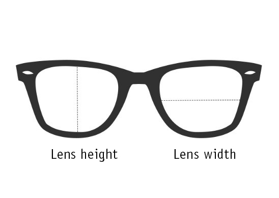 glass width and height