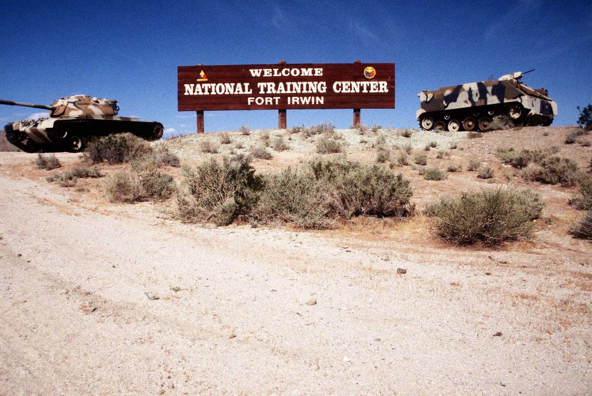 Whats your favorite story from quotThe Boxquot at NTC Ft Irwin