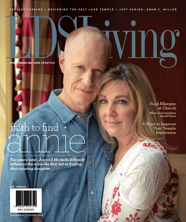 lds living magazine - 740×881