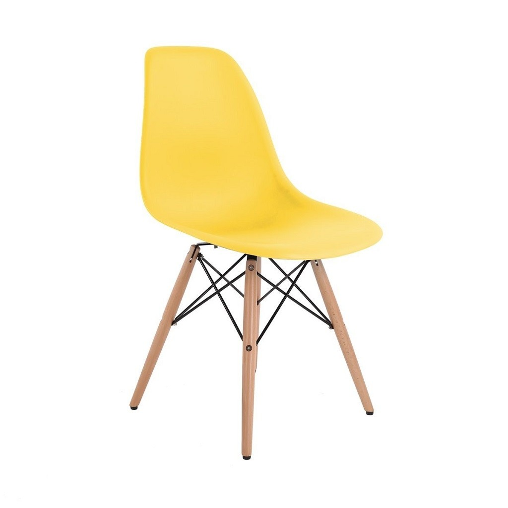 Silla Eames Dsw Base Madera Abs