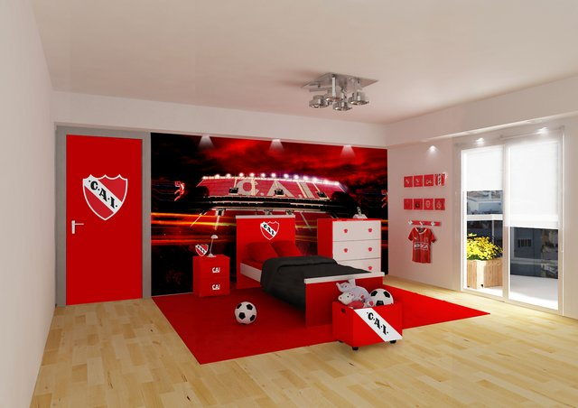 Habitacion con muebles Independiente