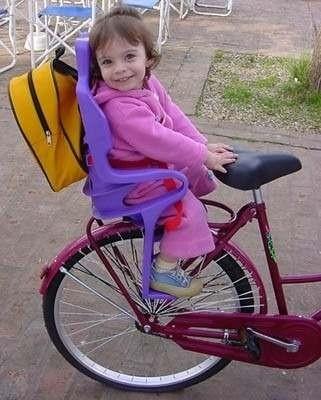 Silla Para Nio Bebe Para Bicicleta  4 Cerebros