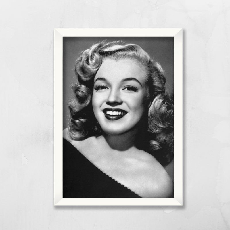 Quadro Marilyn Monroe  Comprar em Balaio de Ideias