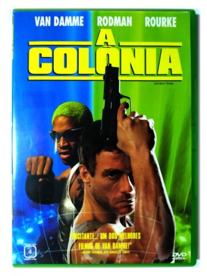 DVD A Colônia Van Damme Dennis Rodman Double Team Original 1997 Mickey Rourke Tsui Hark