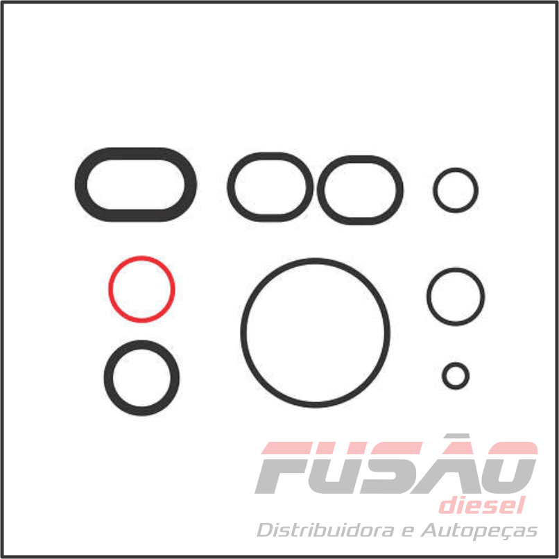 KIT BORRACHAS DO MOTOR KIA SORENTO 2.5 16V 2002/...