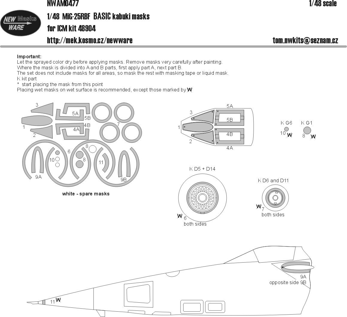 small resolution of aircraft canopy wheels camouflage details designed to be use with icm kits manufacturer new ware code number nwam0477 scale 1 48