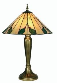 Leaf Tiffany Table Lamp - Large