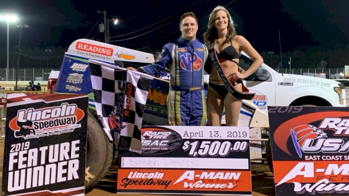 small resolution of the 2018 usac east coast points champion steven drevicki started off his 2019 campaign in the best way possible drevicki from reading pennsylvania