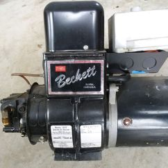 Beckett Oil Low Voltage Wiring Diagrams Burner For Sale Heating Plumbing Paper Shop Free Classifieds