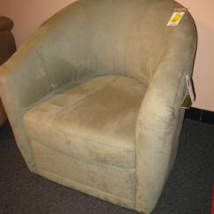 Natuzzi Swivel Chair Heavy Duty Casters West Auctions Auction Bellach S Leather For Living Santa Clara California