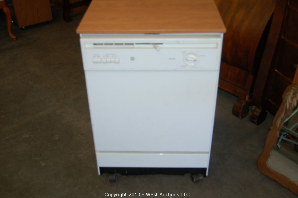 West Auctions Auction Variety Auction From The Difference In Chico Ca Item Ge Nautilus Portable Dishwasher
