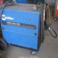 Miller 250 Welder Wiring Diagram Blank Tree Graphic Organizer West Auctions Auction Trucks Boat Construction And Ag