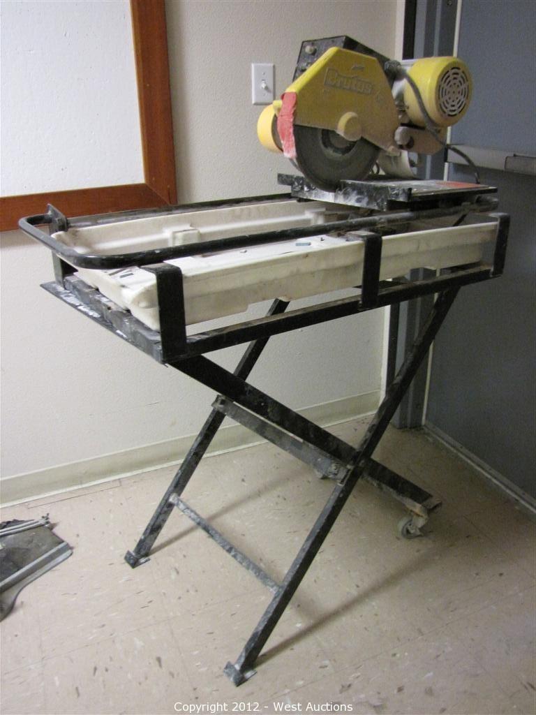 brutus model 60010 tile saw