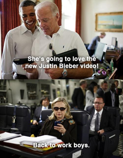 texts from hillary imagines