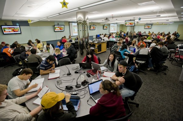 Active Learning Classrooms Break Mold &