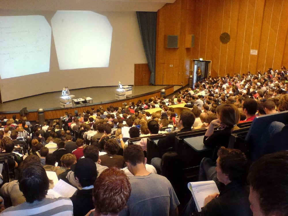 Image result for professor teaching math auditorium