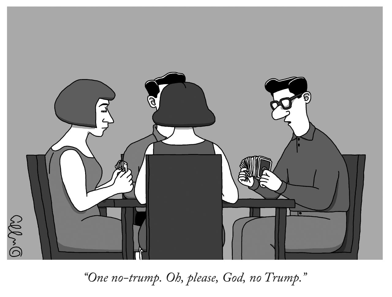 Image result for trump republican cartoon new yorker