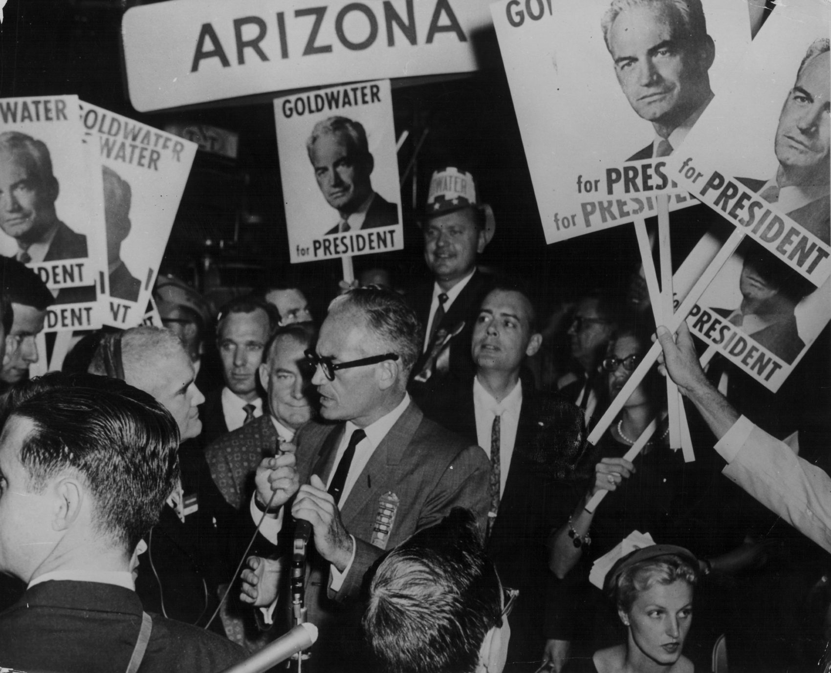 Barry Goldwater Jr On Comparisons Between His Father