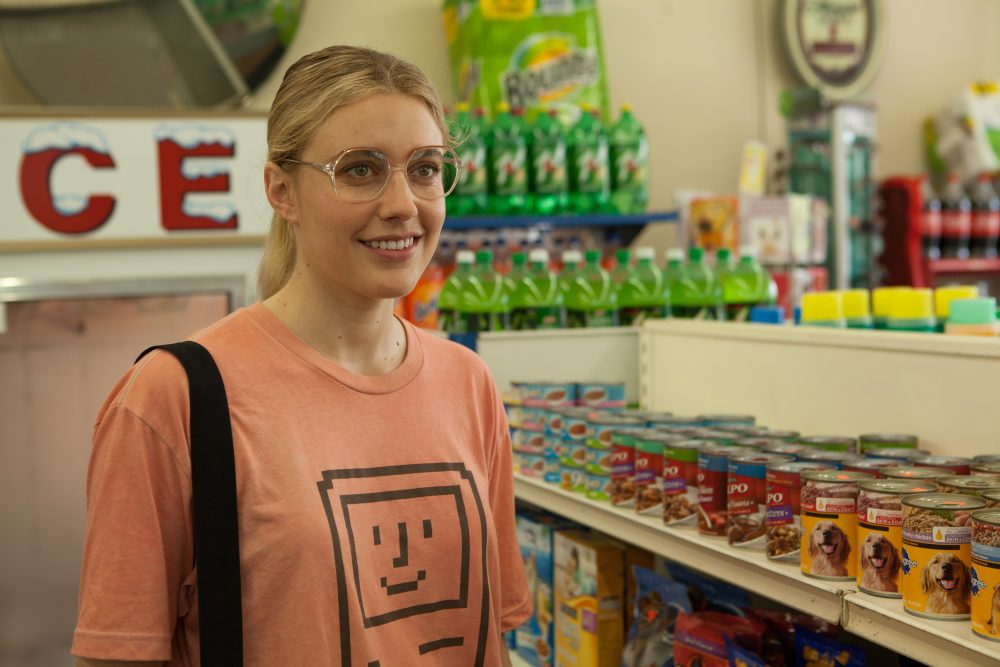 "Greta Gerwig as Dawn Wiener in the film ""Wiener-Dog."" (Courtesy IFC Films)"