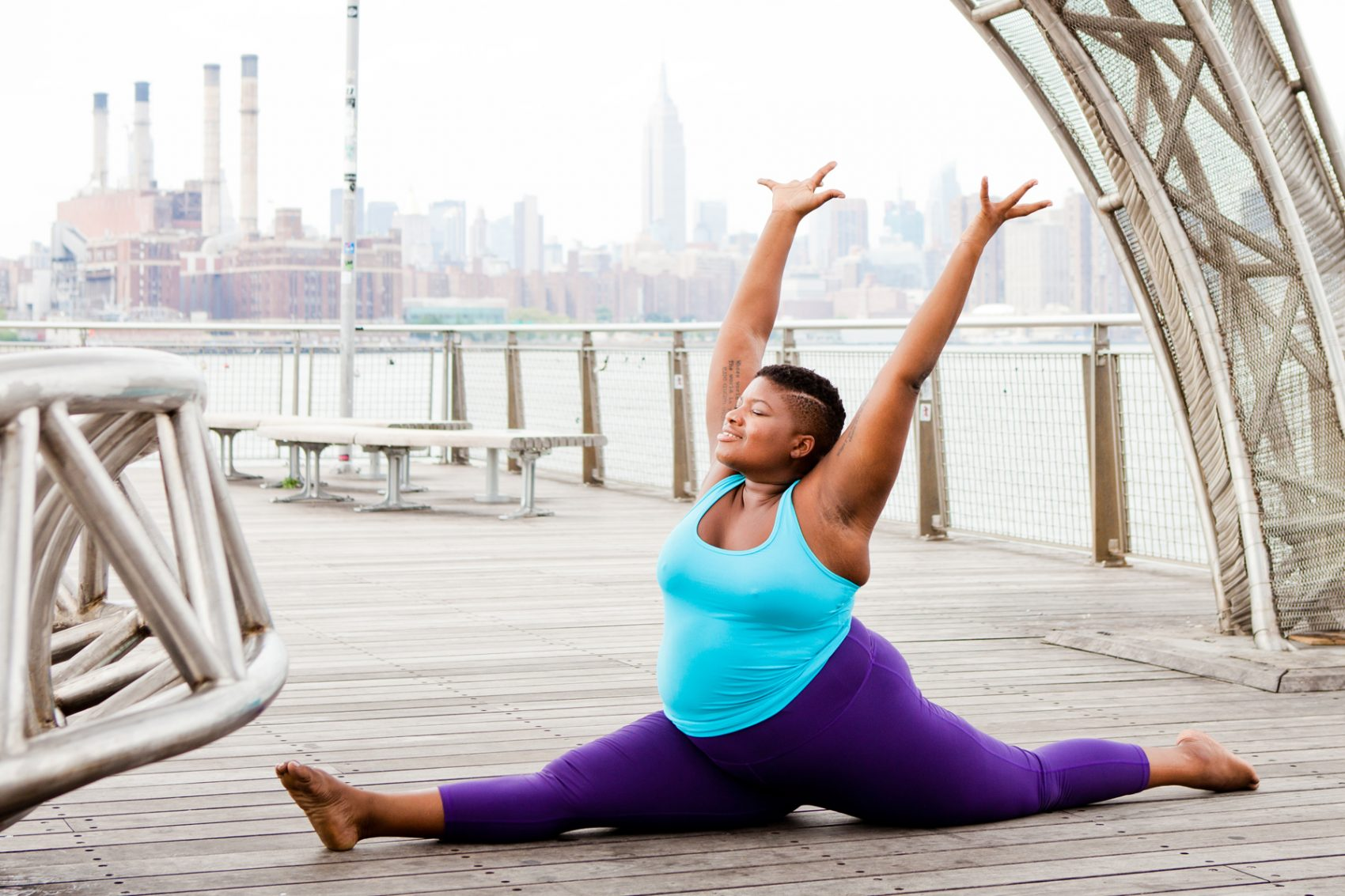 'Every Body Yoga' Encourages Self-Love And Everyone To Get On The Mat | Here & Now