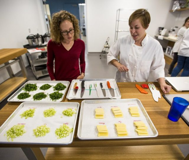 In The New Tasting And Testing Kitchen Brianna Palma And Kate Shannon Review A Test