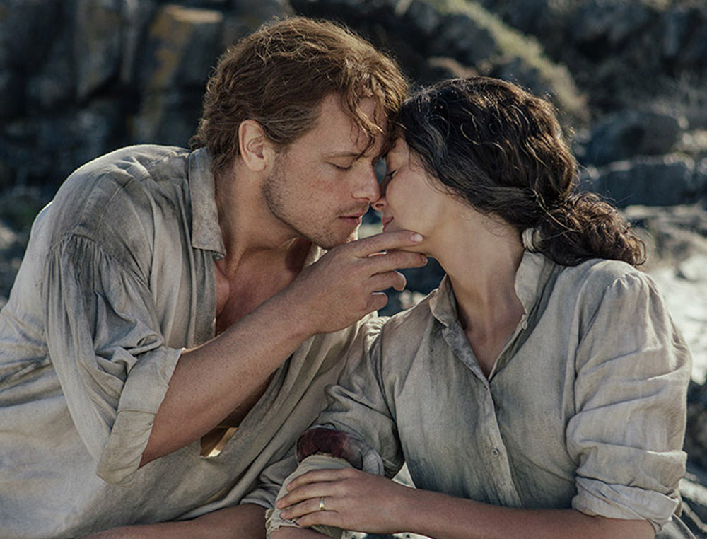 Actors Sam Heughan And Caitriona Balfe Play Jamie And Claire Fraser In The Outlander