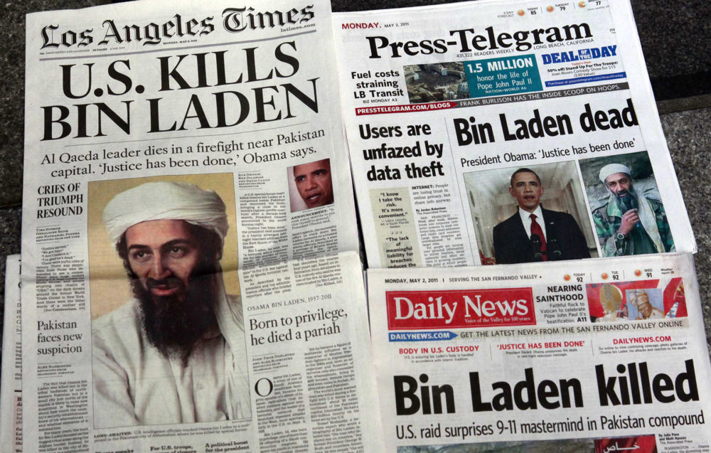 As of 2005, osama bin laden's whereabouts were unknown, but rumor placed him in the mountainous border region between pakistan and afghanistan. A Look At Al Qaeda 10 Years After Osama Bin Laden S Death Here Now