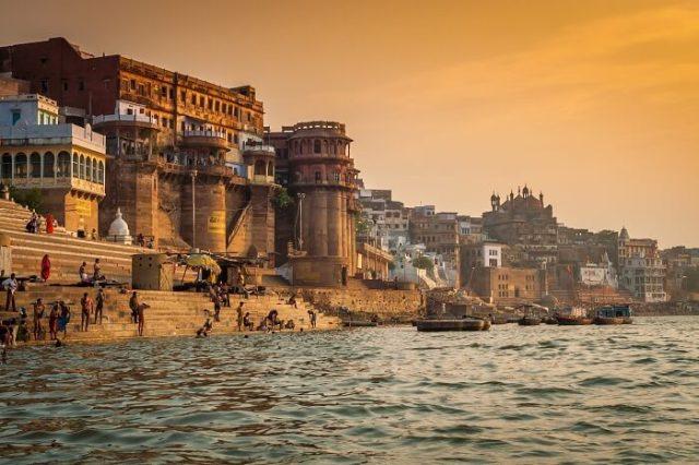Morning at Ganga River in Varanasi