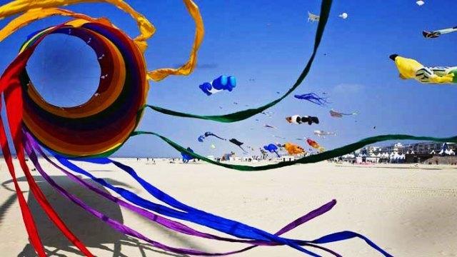 Kite festival at Rann of Kutch