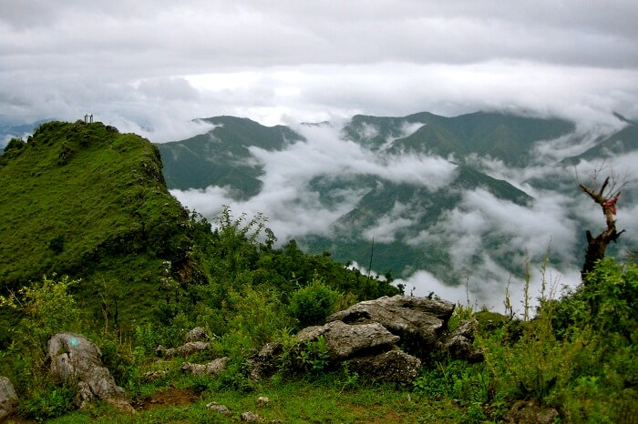 A mesmerising view of the Happy Valley in Mussoorie
