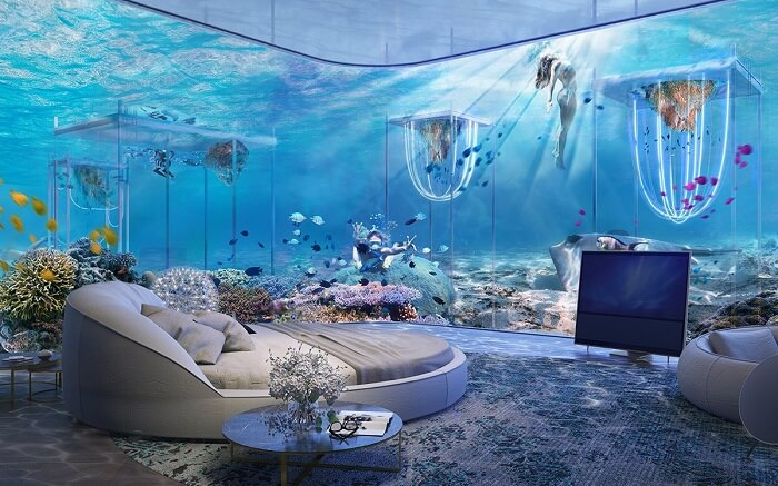 Dubais First Underwater Resort Experience Venice In 2020
