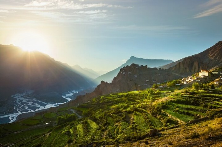 Image result for Spiti Valley in monsoon