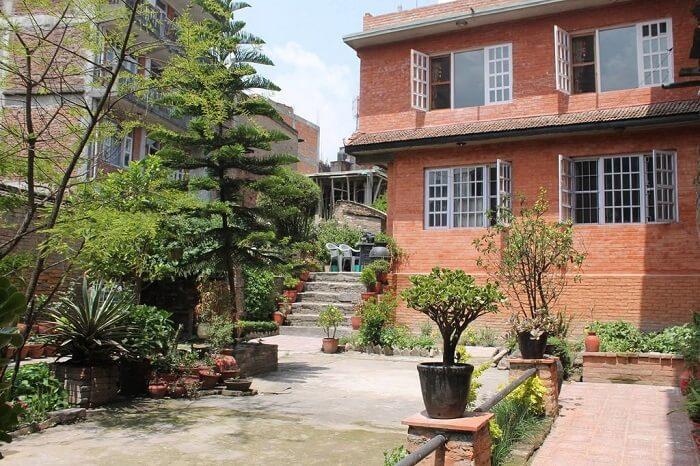 exterior of pradhan house