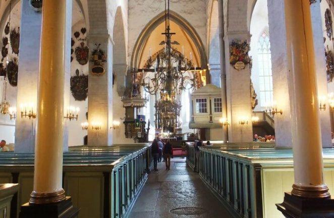 Church inside view