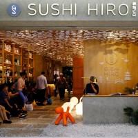 Sushi Hiro, Sajian Sushi di Atas Tangga