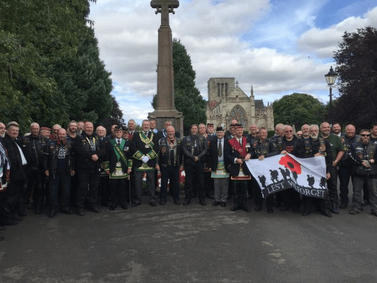 HaddingtonBrethren and the WSS at the War Memorial