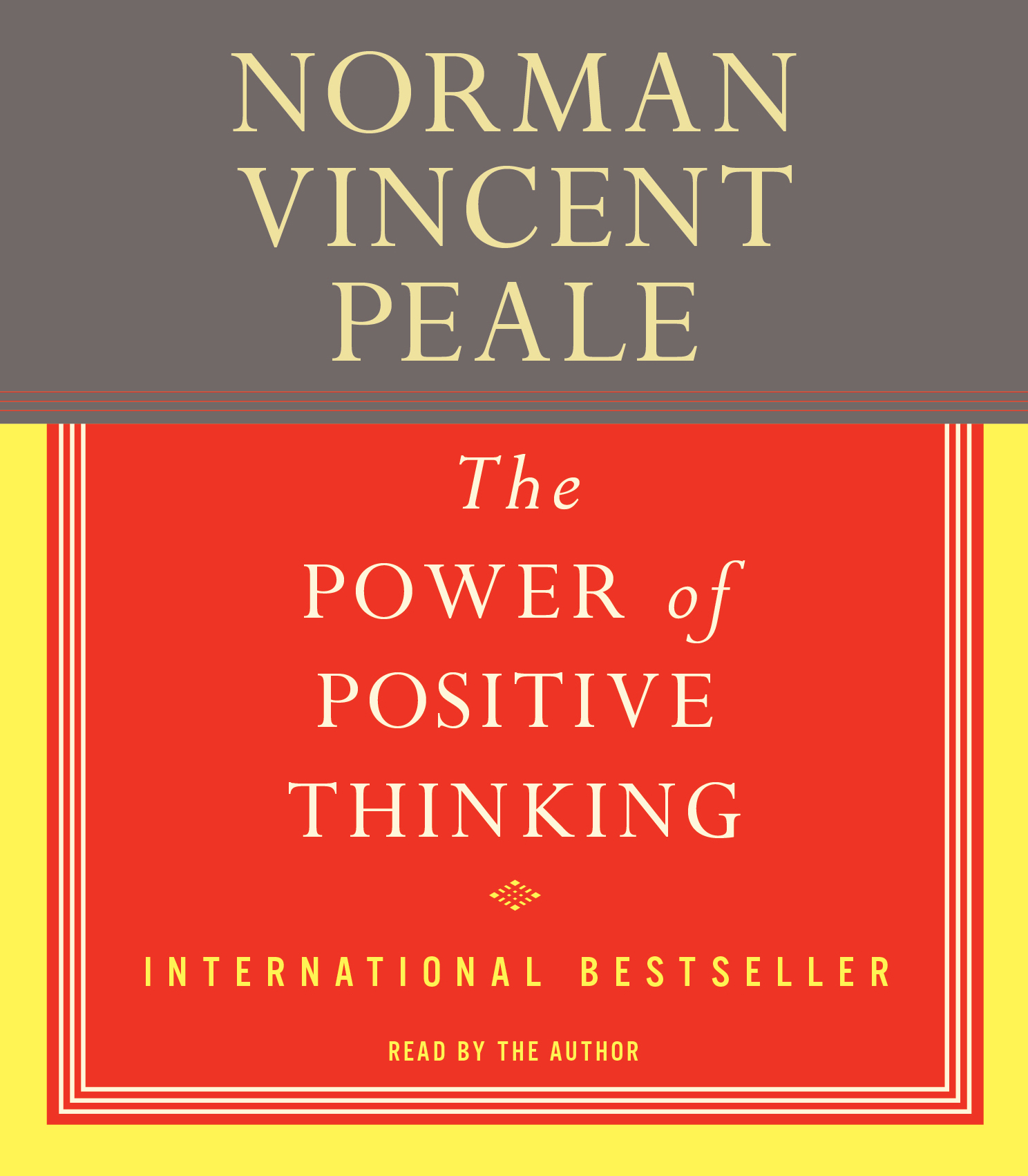 The Power Of Positive Thinking The Audiobook On Cd By Dr