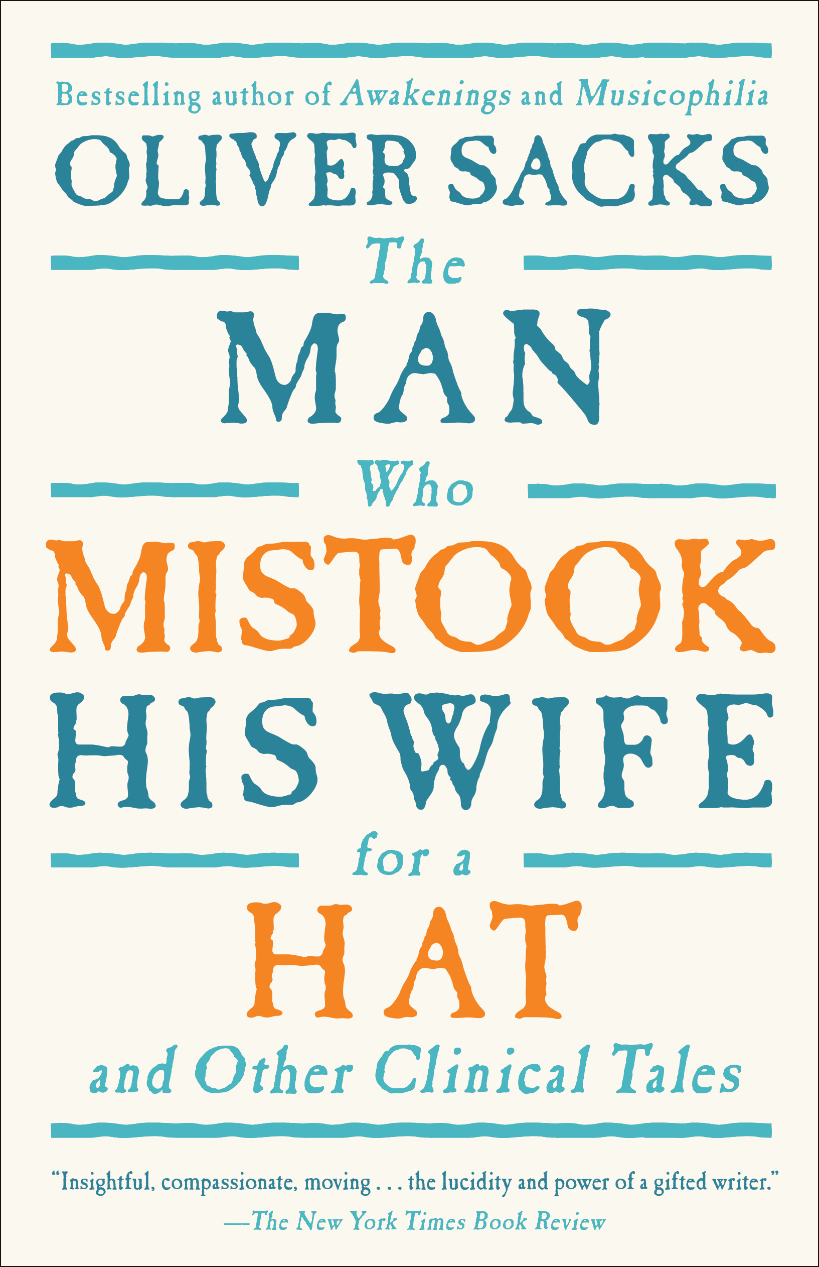 Image result for the man who mistook if wife for a hat book cover