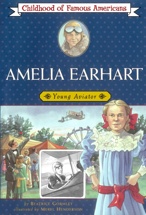 small resolution of Amelia Earhart   Book by Beatrice Gormley