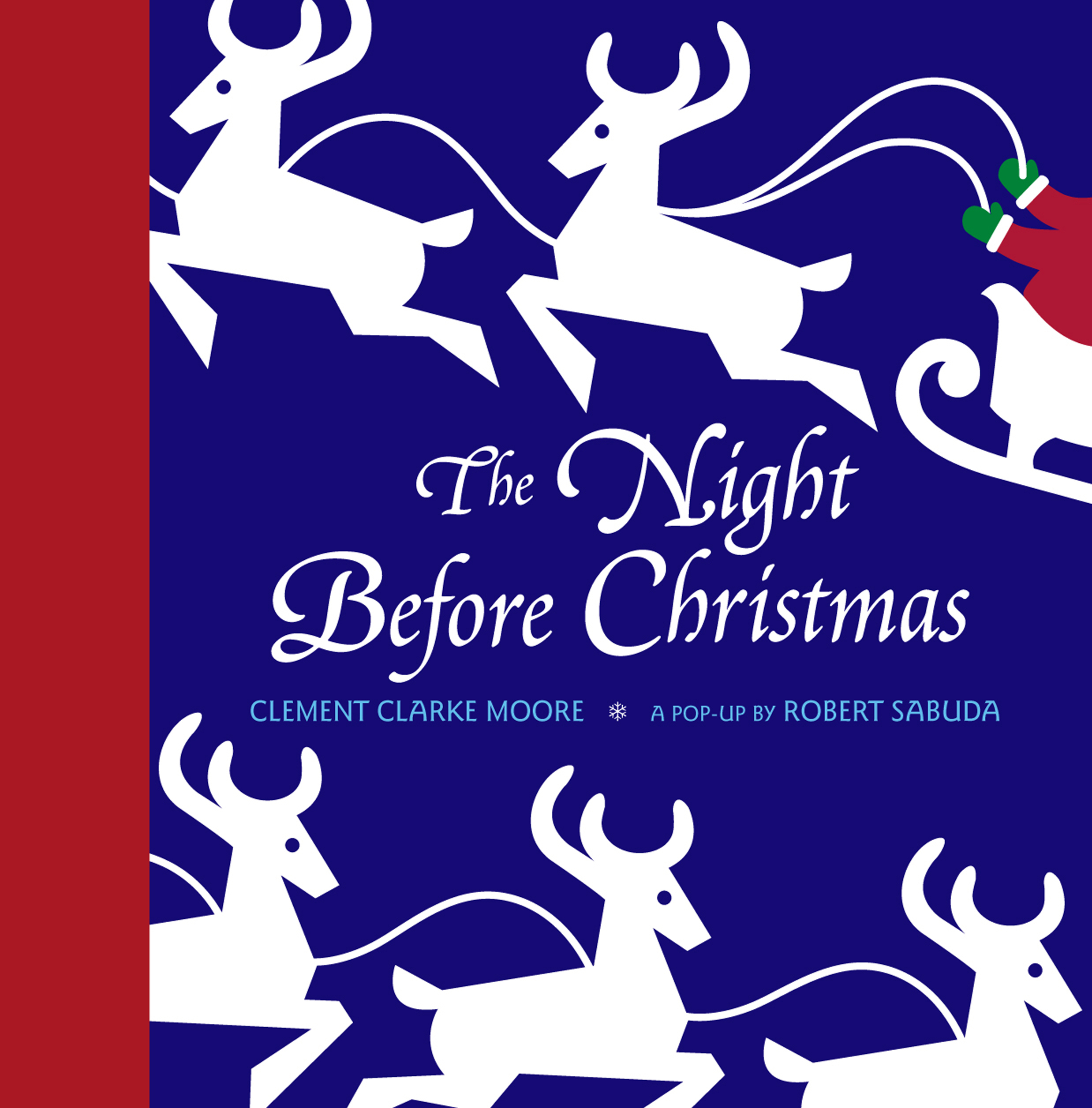 Night Before Christmas Pop Up Book By Clement Clarke