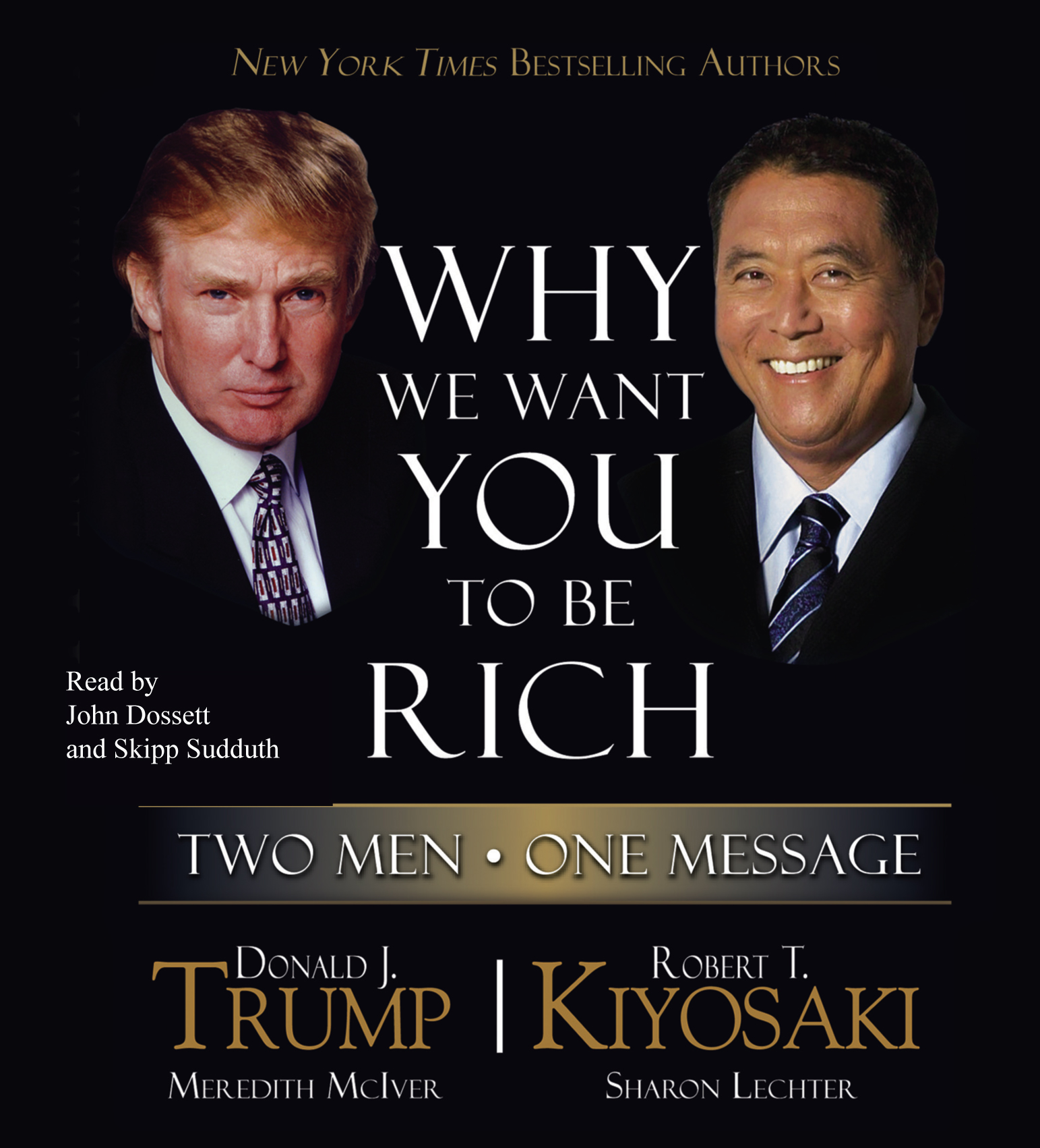 Robert Kiyosaki Libros Gratis Why We Want You To Be Rich Audiobook By Donald J Trump