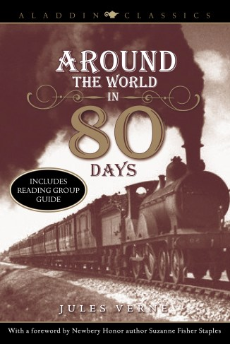 Image result for around the world in 80 days book