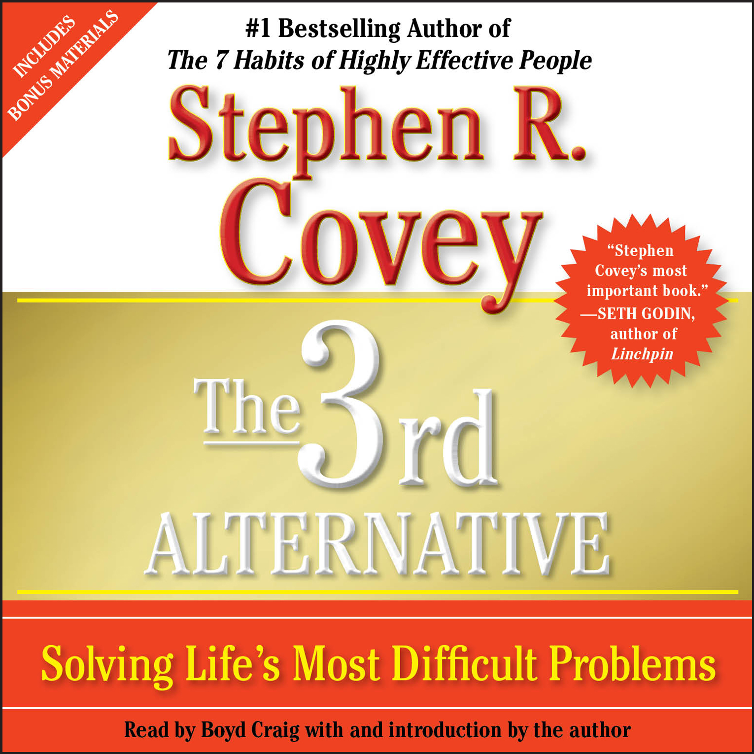 The 3rd Alternative Audiobook By Stephen R Covey Dr
