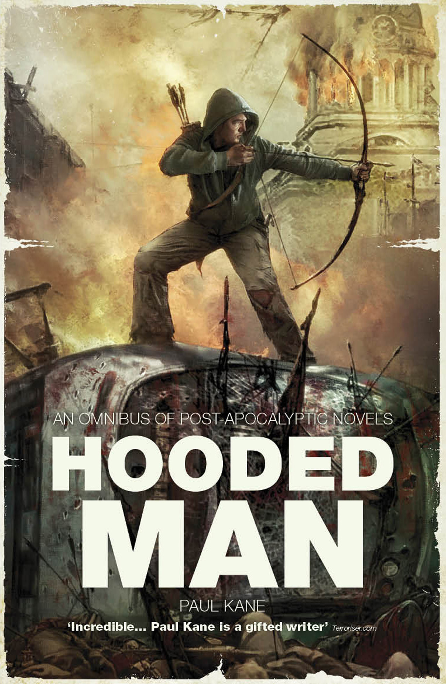 Hooded Man An Omnibus of PostApocalyptic Novels  Book
