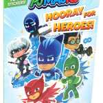 Pj Masks Hooray For Heroes Sticker Book Book By Editors Of Studio Fun International Official Publisher Page Simon Schuster