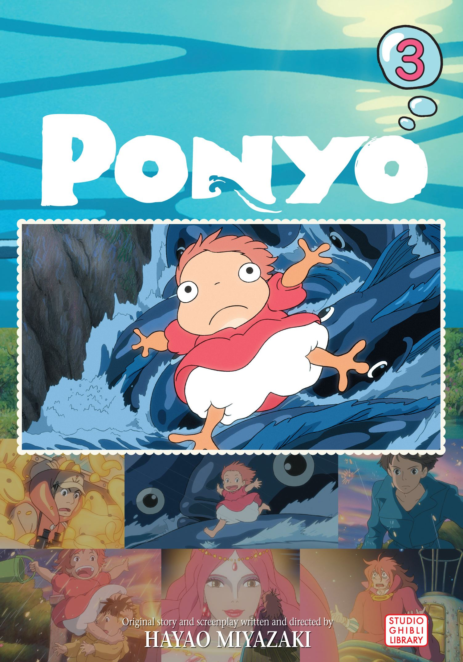 Ponyo Film Comic Vol 3  Book by Hayao Miyazaki  Official Publisher Page  Simon  Schuster