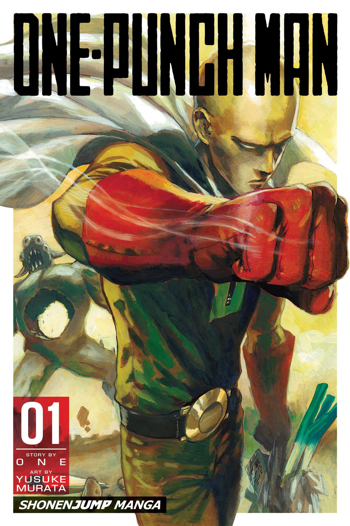 One Punch Man Tome 1 : punch, One-Punch, Yusuke, Murata, Official, Publisher, Simon, Schuster, Canada