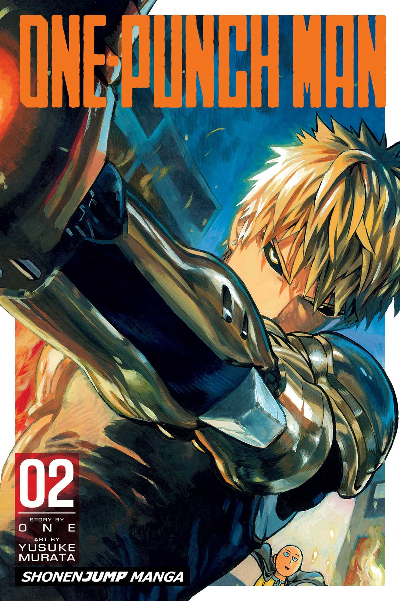 One Punch Man Tome 1 : punch, One-Punch, Yusuke, Murata, Official, Publisher, Simon, Schuster