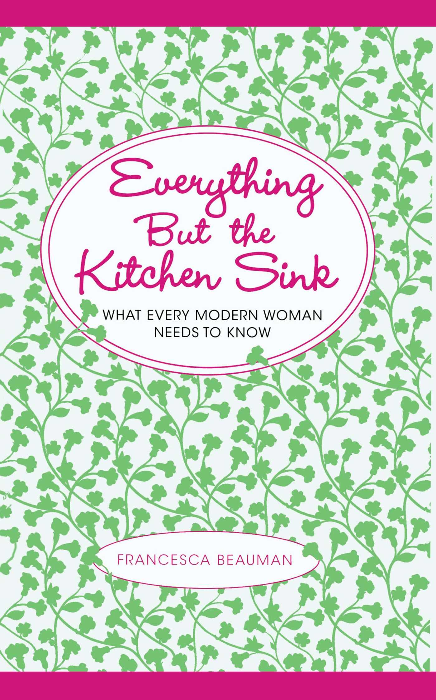 everything but the kitchen sink book