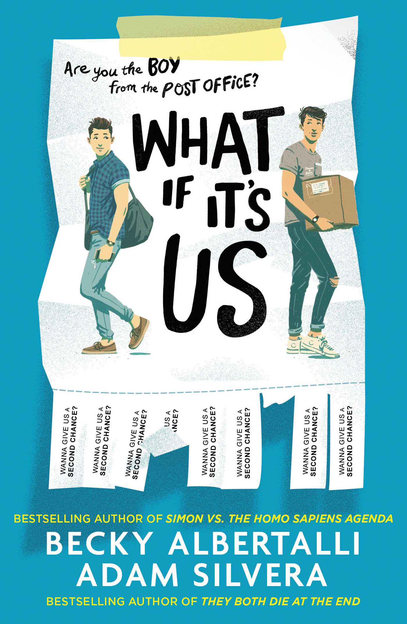 What If Its Us  Book by Adam Silvera Becky Albertalli  Official Publisher Page  Simon